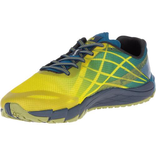 Merrell Bare Access Flex - Chaussures running Homme - jaune Original Livraison Gratuite w28QSqe